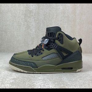Nike Shoes - New Jordan Spizike Olive Green Canvas Cone Black